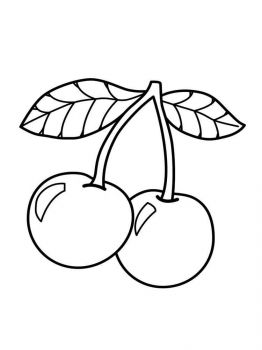 Cherry-fruits-coloring-pages-2