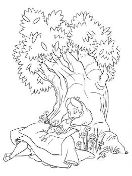 Alice-in-Wonderland-coloring-pages-5