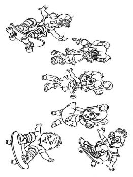 Alvin-and-the-Chipmunks-coloring-pages-14
