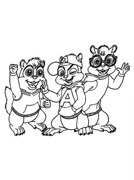 Alvin-and-the-Chipmunks-coloring-pages-22