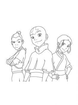 Avatar-The-Last-Airbender-coloring-pages-11