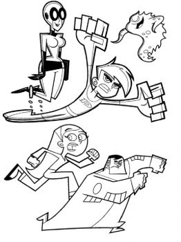Danny-Phantom-coloring-pages-7