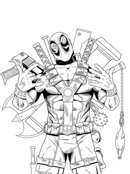 Deadpool-coloring-pages-9