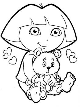 Dora-the-Explorer-coloring-pages-7