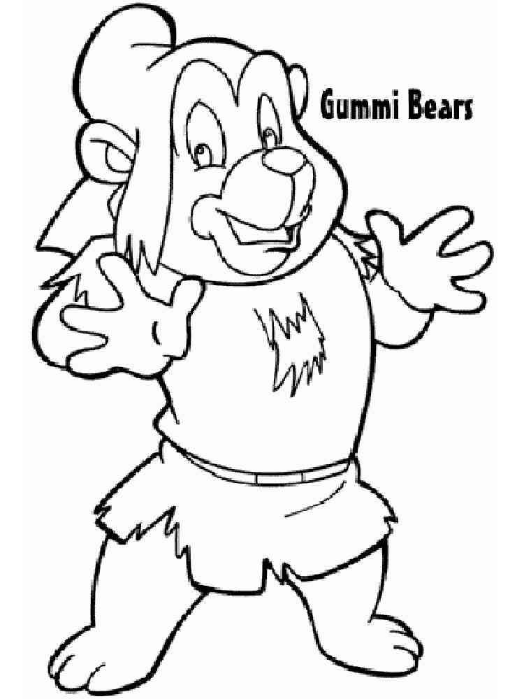 ausmalbilder gummibärenbande  malvorlagen kostenlos zum