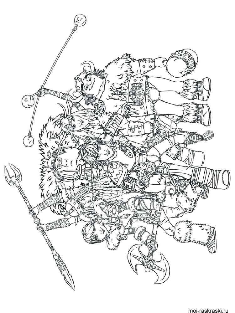ausmalbilder drachenzähmen leicht gemacht  malvorlagen