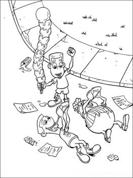 Jimmy-Neutron-coloring-pages-7