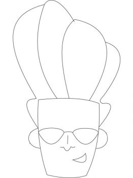 Johnny-Bravo-coloring-pages-1