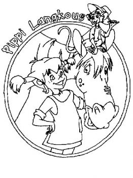 Pippi-Longstocking-coloring-pages-2