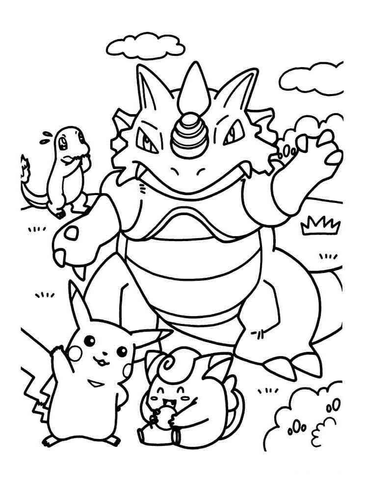 ausmalbilder pokemon - malvorlagen kostenlos zum ausdrucken