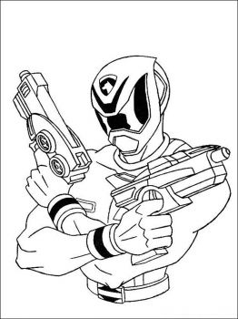 Power-Rangers-coloring-pages-2