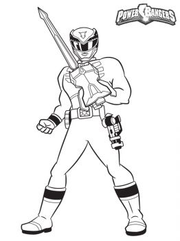 Power-Rangers-coloring-pages-3
