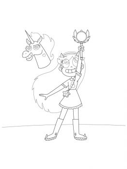 Star-vs-the-Forces-of-Evil-coloring-pages-1