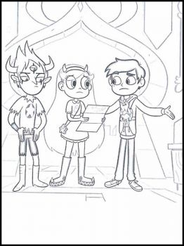 Star-vs-the-Forces-of-Evil-coloring-pages-15