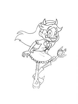 Star-vs-the-Forces-of-Evil-coloring-pages-2
