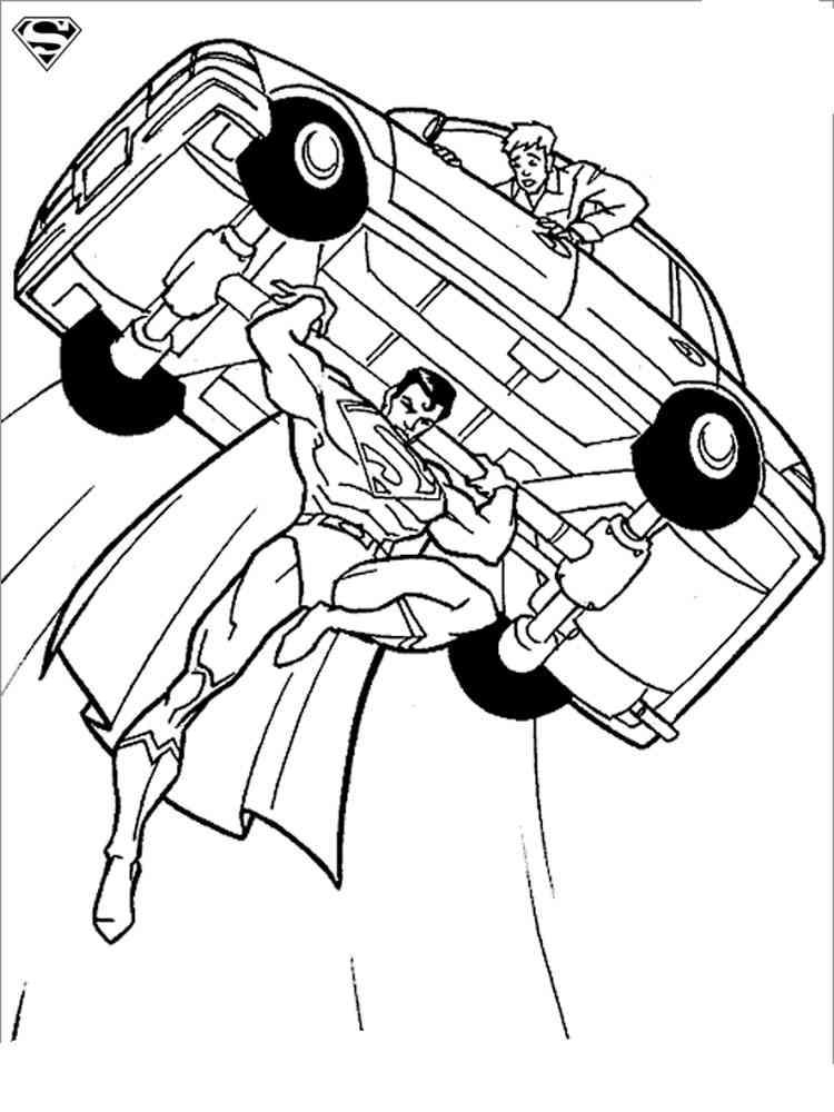 ausmalbilder superman  malvorlagen kostenlos zum ausdrucken