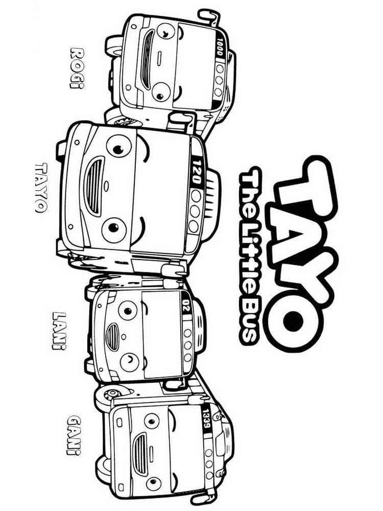 malvorlagen tayo den kleinen bus  ausmalbilder kostenlos