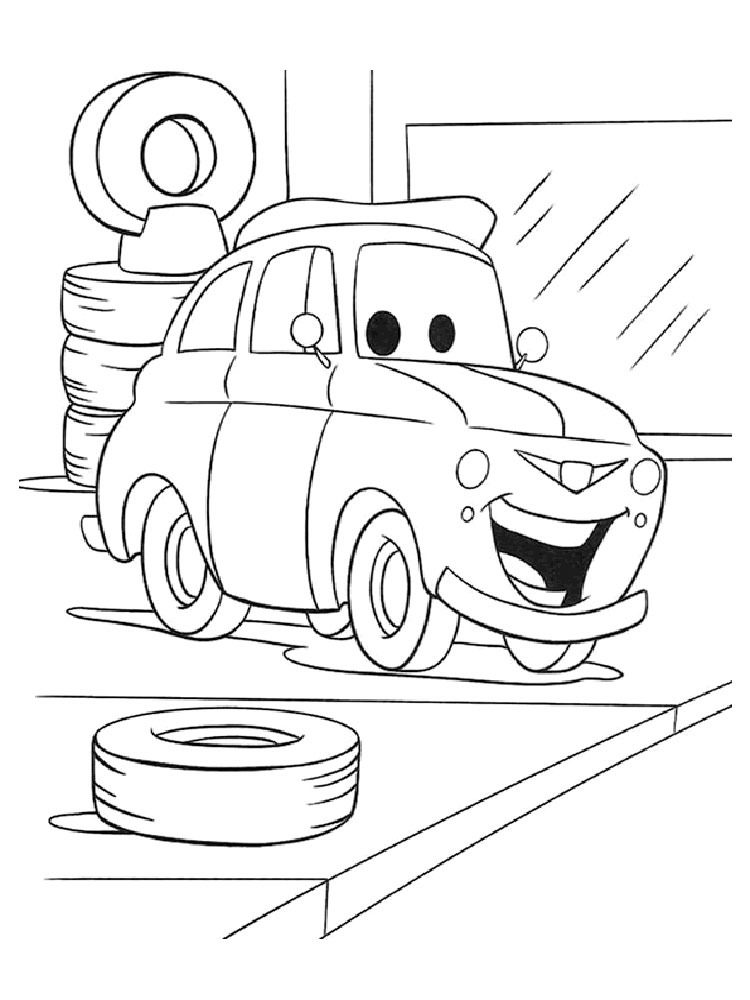 ausmalbilder cars 1, 2, 3 - malvorlagen kostenlos zum