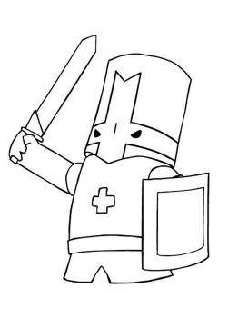 castle-crashers-coloring-pages-8