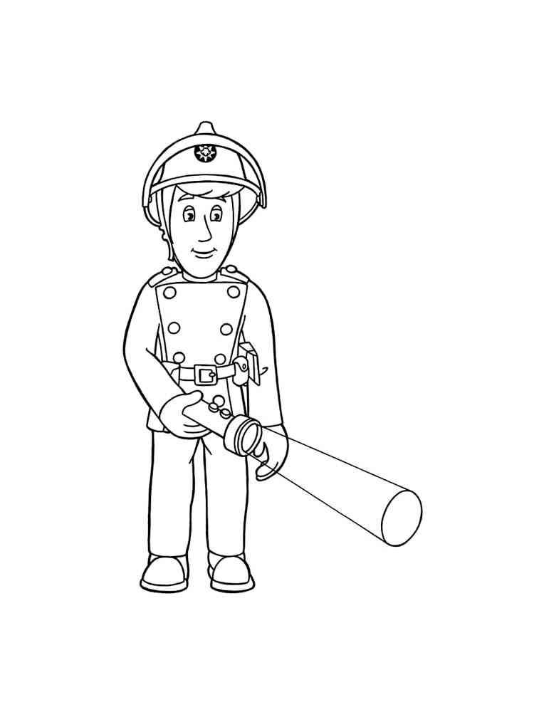 malvorlagen von feuerwehrmann sam  ausmalbilder kostenlos