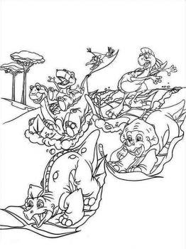 land-before-time-coloring-pages-21