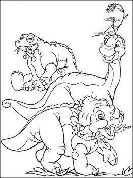 land-before-time-coloring-pages-9