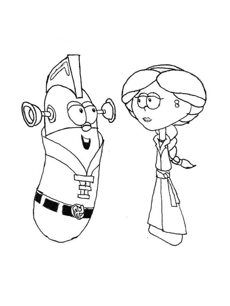 larry boy coloring pages - photo#13
