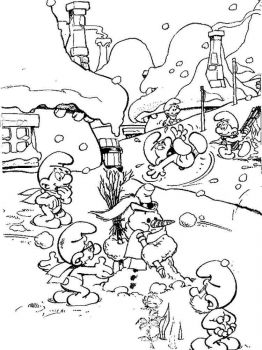 the-smurfs-coloring-pages-12