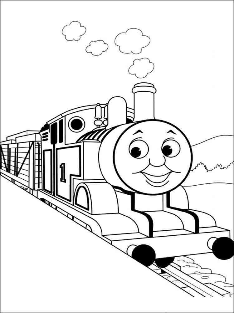 ausmalbilder thomas die kleine lokomotive  malvorlagen