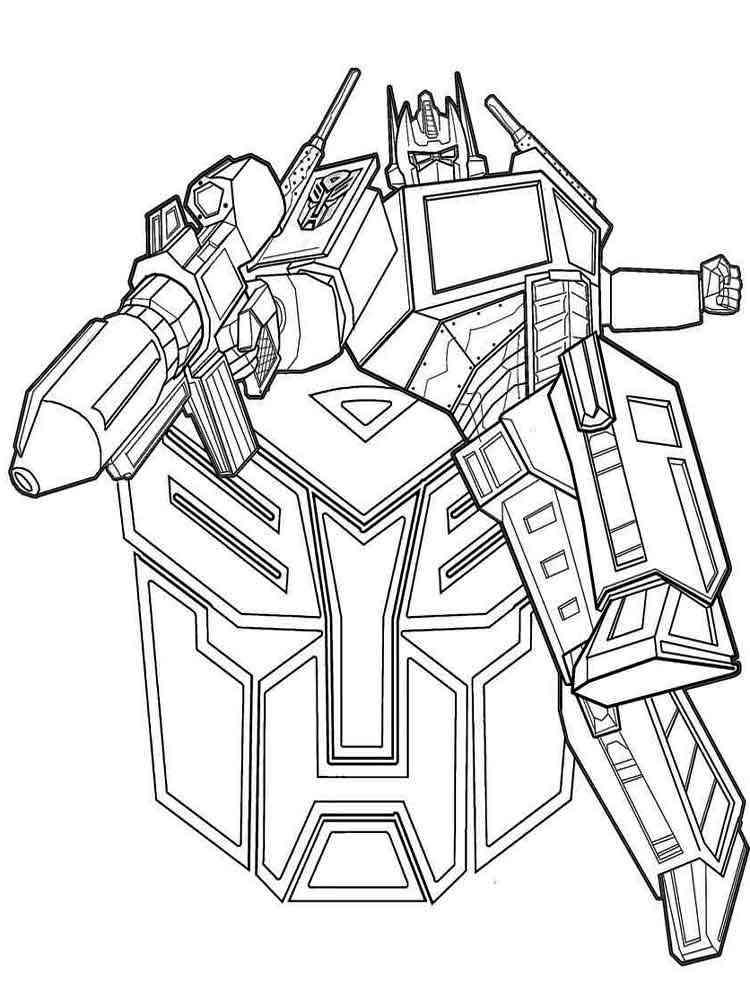 Ausmalbilder Transformers - Malvorlagen Kostenlos zum ...