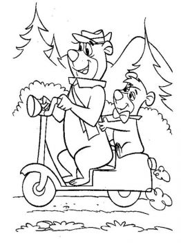 yogi-bear-coloring-pages-15