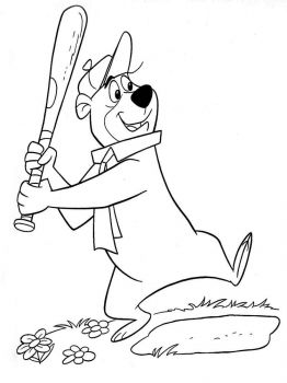 yogi-bear-coloring-pages-18
