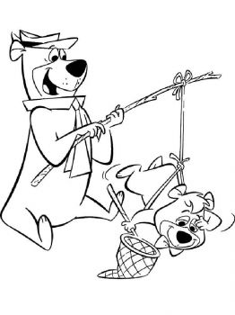 yogi-bear-coloring-pages-22