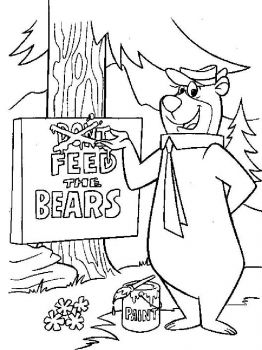 yogi-bear-coloring-pages-23