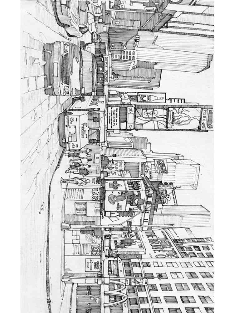 ausmalbilder new york - malvorlagen kostenlos zum ausdrucken