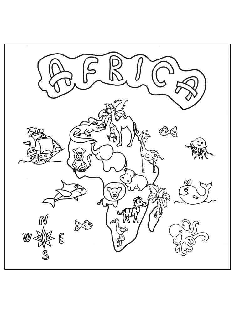 malvorlagen afrika kostenlos zum ausdrucken - tiere-afrika