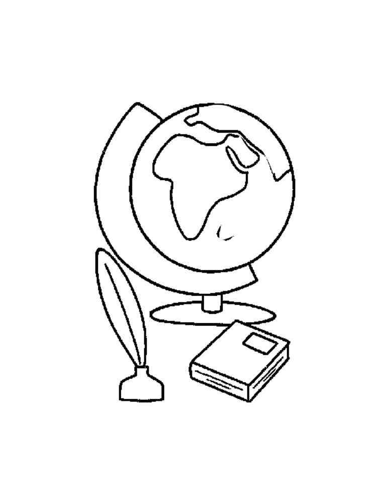 ausmalbilder globus  malvorlagen kostenlos zum ausdrucken