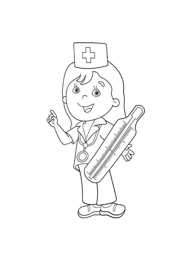 ausmalbilder krankenschwester  malvorlagen kostenlos zum