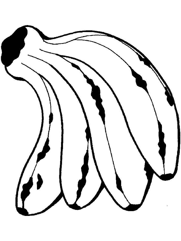 malvorlagen banane  ausmalbilder kostenlos zum ausdrucken