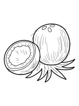 Coconut-fruits-coloring-pages-1