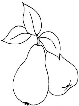 Pear-fruits-coloring-pages-1