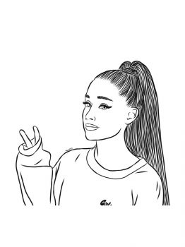 Ariana-Grande-coloring-pages-2