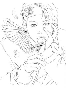 BTS-coloring-pages-11