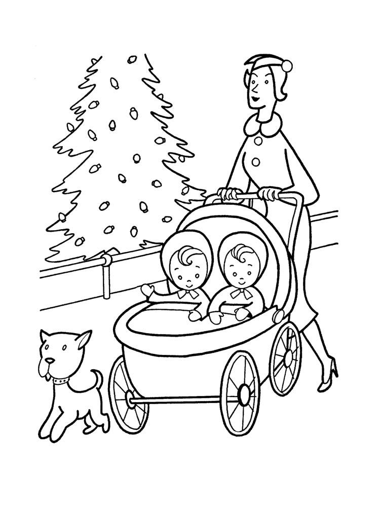 malvorlagen kinderwagen  ausmalbilder kostenlos zum