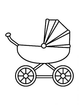 Baby-Stroller-coloring-pages-3