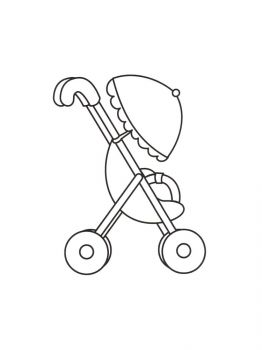 Baby-Stroller-coloring-pages-5