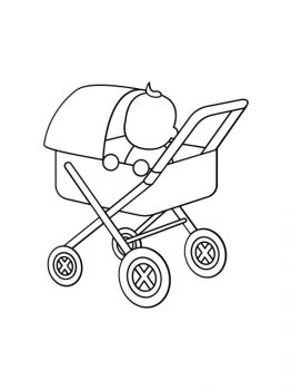 Baby-Stroller-coloring-pages-8
