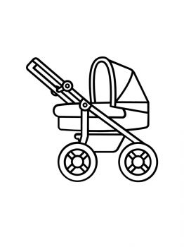Baby-Stroller-coloring-pages-9