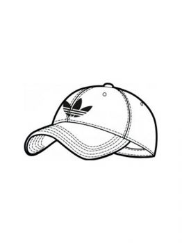 Baseball-Cap-coloring-pages-1