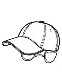 Baseball-Cap-coloring-pages-12